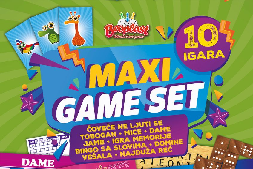 Maxi game set