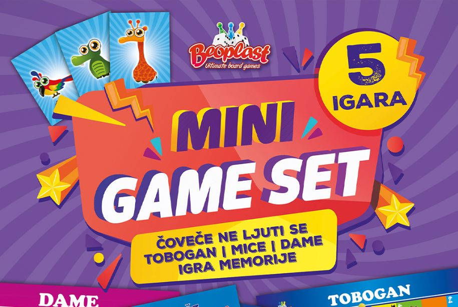 Mini game set